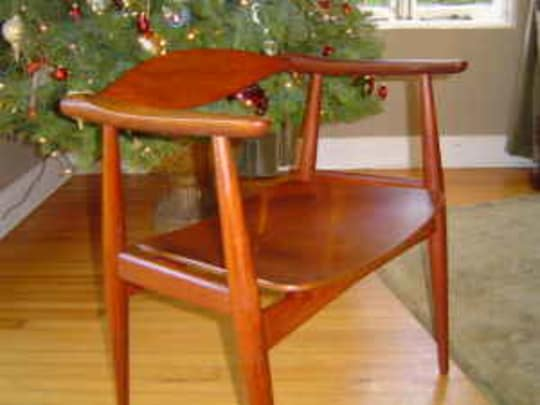1959 Signed Hans Wegner Arm Chair