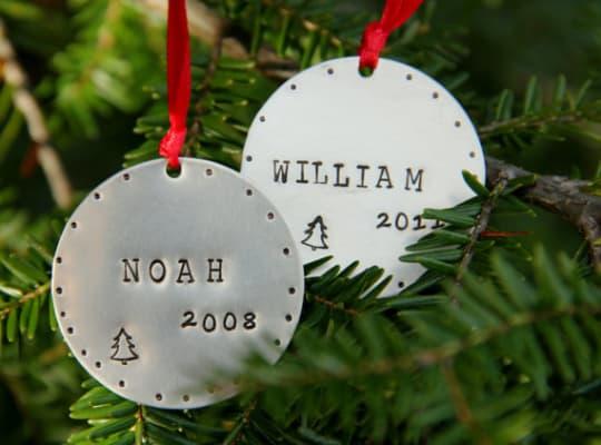 White Lilie Handmade Ornaments