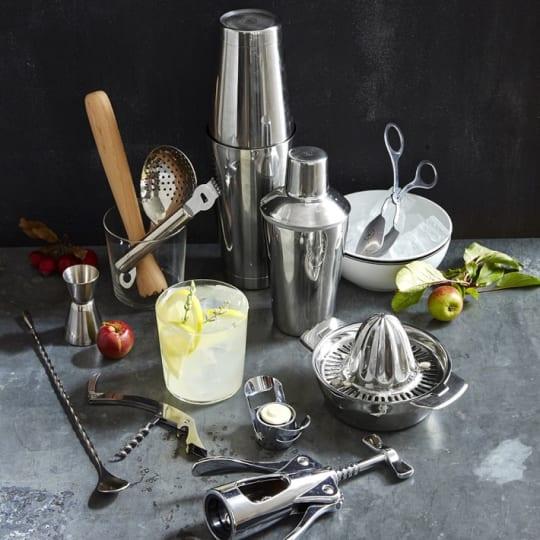 Williams-Sonoma Open Kitchen Single-Wall Cocktail Shaker Set