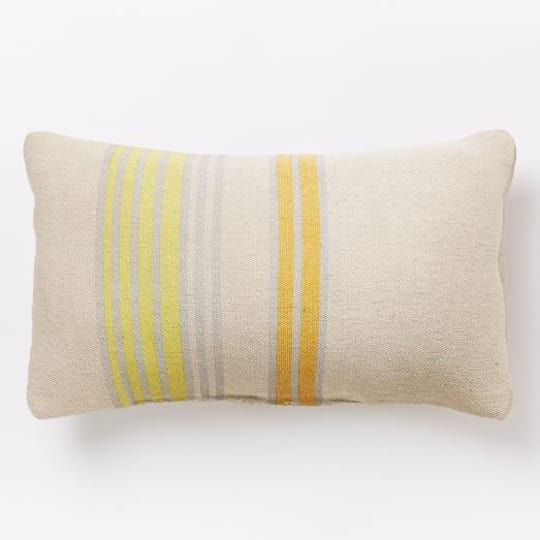 Block Stripe Pillow