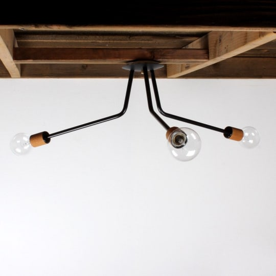 onefortythree 3-Arm Ceiling Light