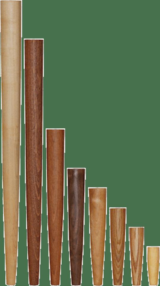 Solid Wood Wegner Table Legs