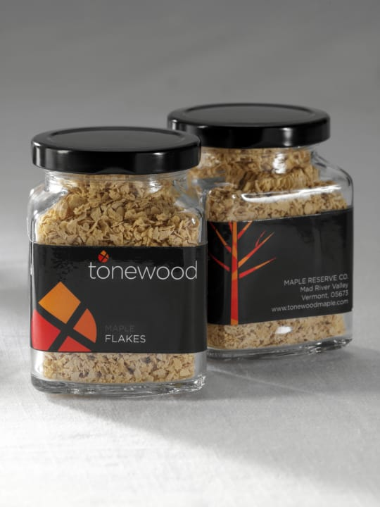 Maple Flakes from Tonewood Maple