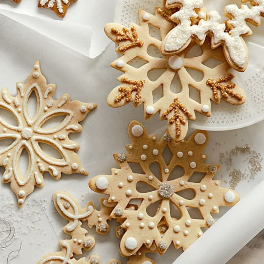 Giant Snowflake Cookie Cutters from Williams-Sonoma