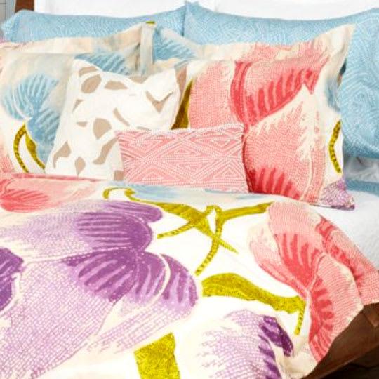 """Diane von Furstenberg """"Floral Batik"""" Bedding"""