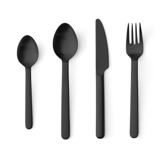 Menu New Norm Black Cutlery