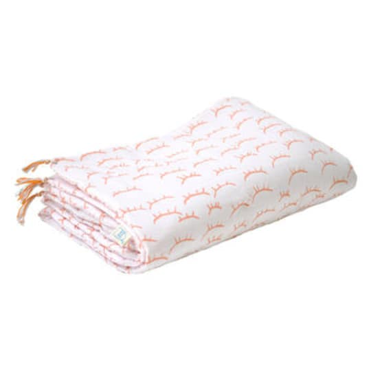 Oh So Sleepy Pink Coverlet