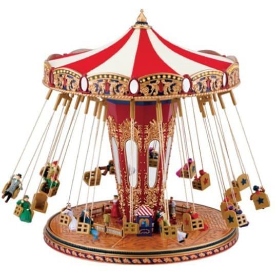 World's Fair Swing Carousel Music Box