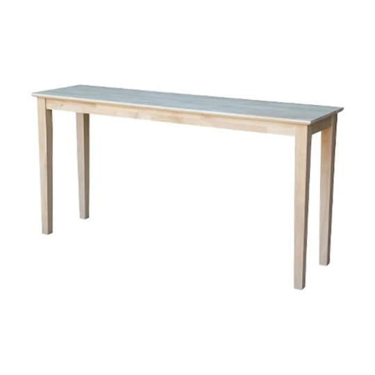 International Concepts Shaker Extended Length Console Table at Target