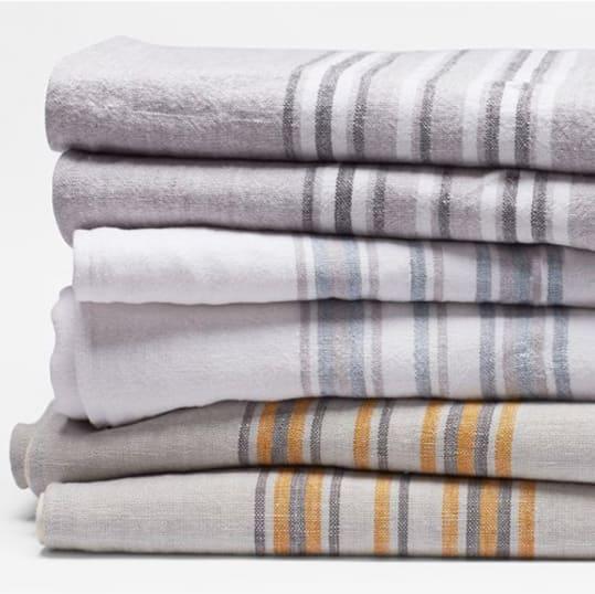 Rustic Linen Throw Blanket at Coyuchi