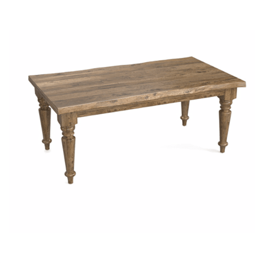 """Bench Made 72"""" Farmhouse Table at Bassett Furniture"""