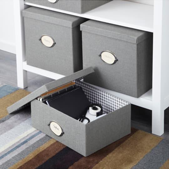 KVARNVIK box with lid