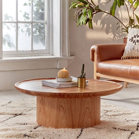 Matro Wood Coffee Table at Urban Outfitters