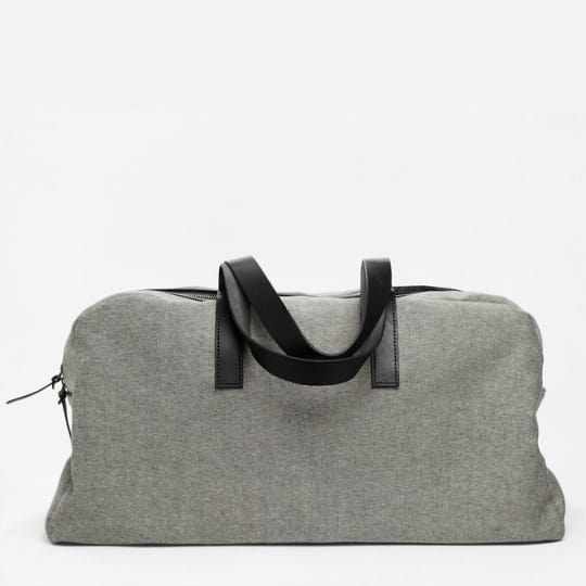 The Everlane Twill Weekender