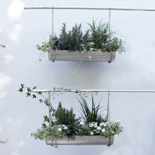 Industrial Hanging Planter From West Elm