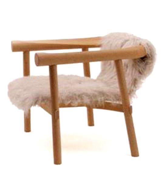 Log Armchair by Patricia Urquiola