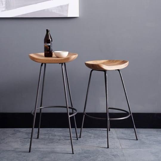 Alden Counter + Bar Stools