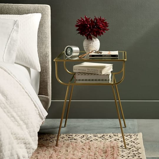 Curved Terrace Nightstand