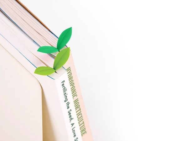Sprout Book Mark by Doo Design Studio