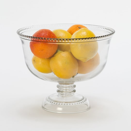 Dotted Rim Serving Bowl from Terrain