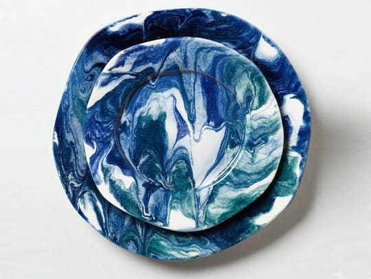 Sea-Flecture Dinnerware from Anthropologie