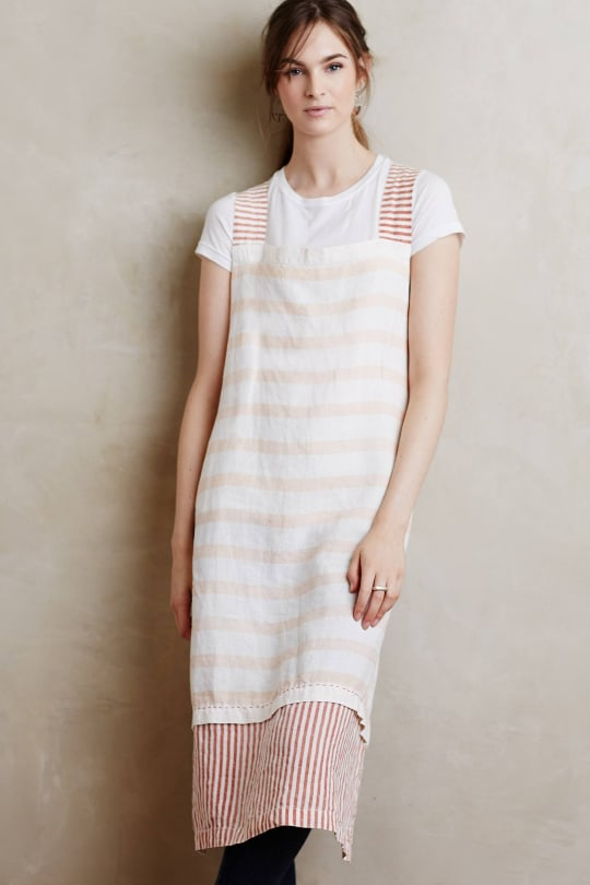 Linen Market Aprons from Anthropologie