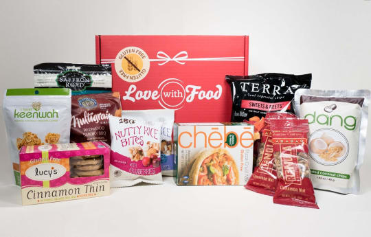 Gluten-Free Snack Subscription from Love With Food