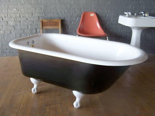 Reglazed Clawfoot Bathtub