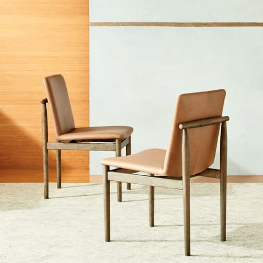 Framework Leather Dining Chair at West Elm