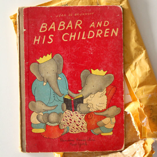 """1st Edition """"Babar and His Children"""""""