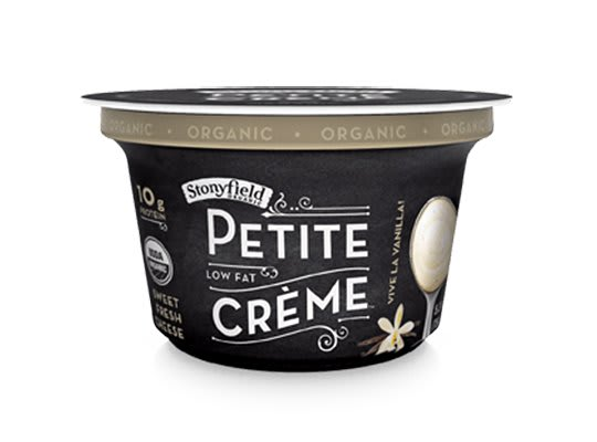Petite Crème from Stonyfield Organic