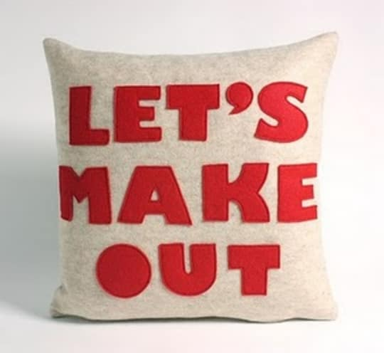 Let's Make Out Pillow