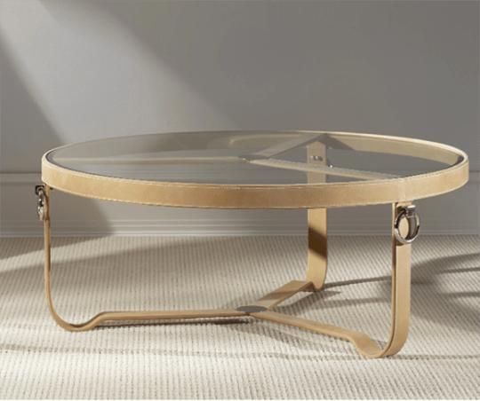 Saratoga Tan Coffee Table