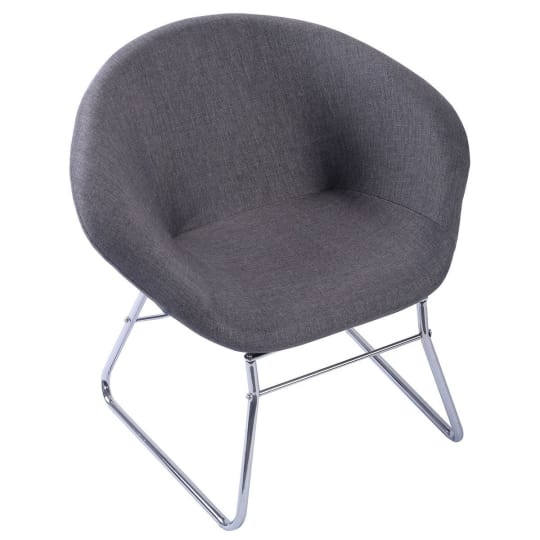 Modern Gray Accent Chair