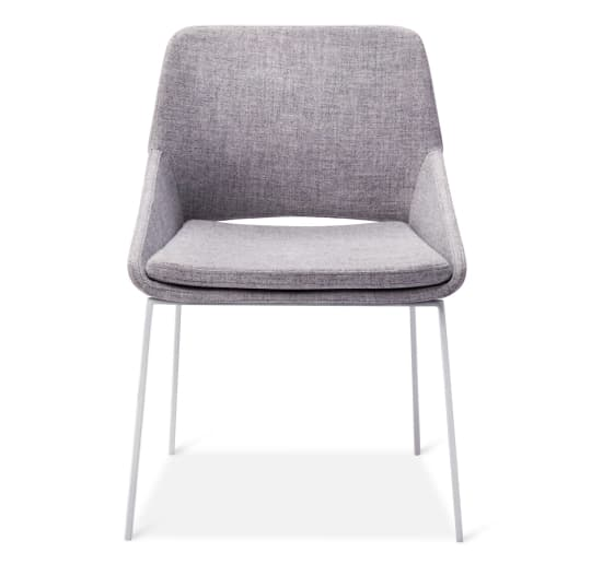 Dining Chair in White/Gray from Modern by Dwell Magazine at Target