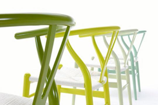 Citrus Series Wishbone Chairs by Hans Wegner