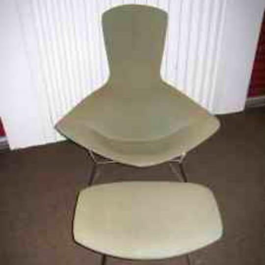 Knoll Bird Chair & Ottoman