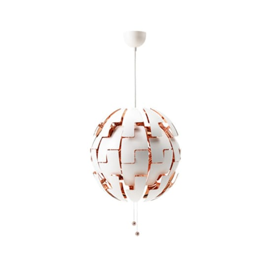 IKEA PS 2014 Pendant Lamp White, Copper