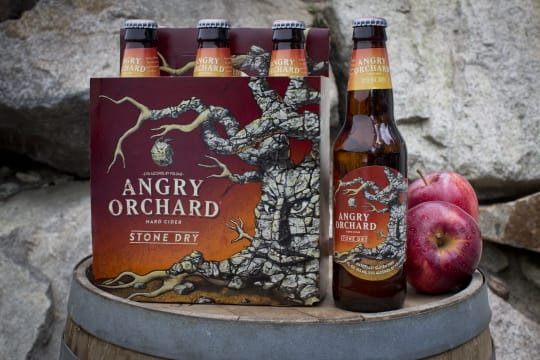 Stone Dry Cider from Angry Orchard