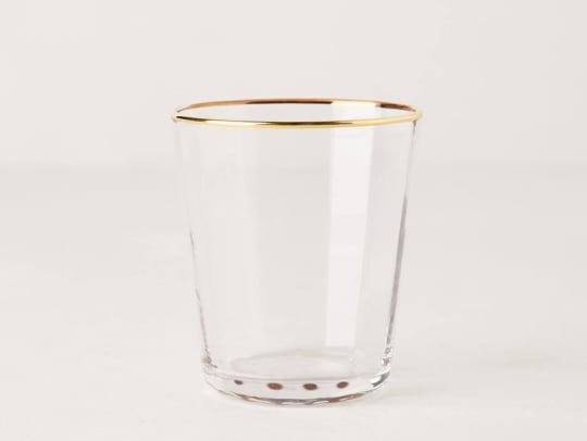 Sparkle-Trimmed Tumbler from Anthropologie