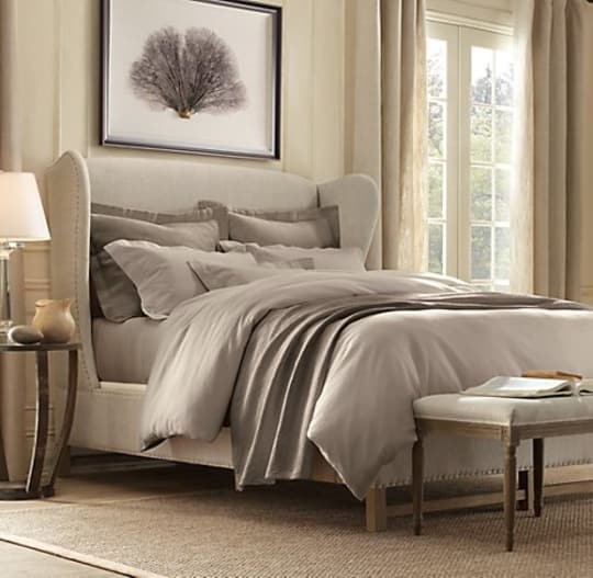 French Wing Bed