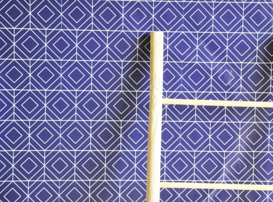 Sketched Geometric Diamond Removable Wallpaper from The Lovely Wall