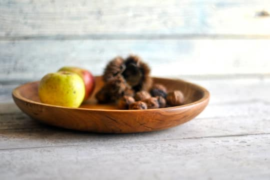 Wood Bowl Plate from Oniroteo