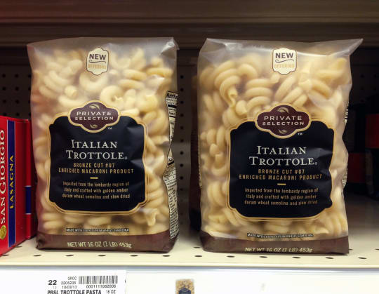 Trottole Pasta from Kroger Private Selection