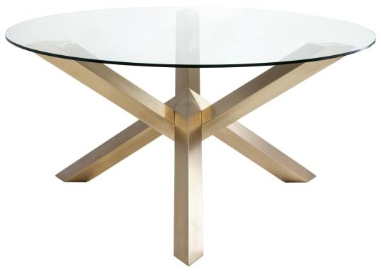 Tasmin Gold Dining Table