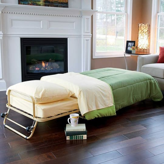 Ottoman Bed Plus Mattress Topper