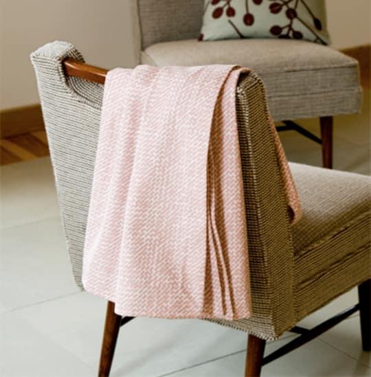 Large Twill Organic Blanket