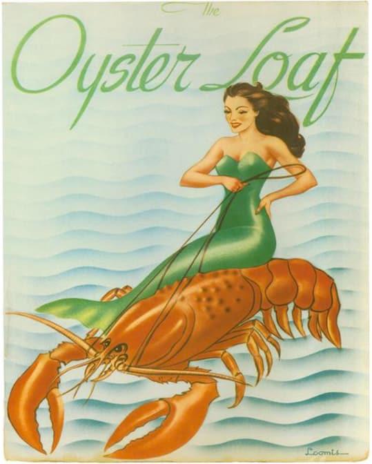 The Oyster Loaf Menu Print