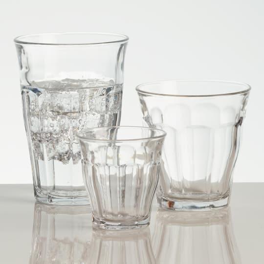 Tempered Duralex Picardie Glasses