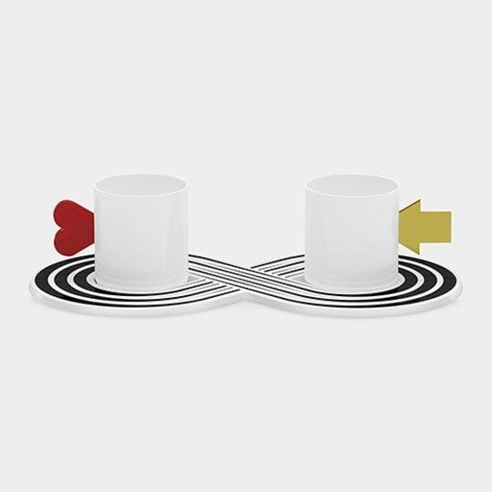 Tea for Two (Infinite Love) by Marcello Morandini for MoMA